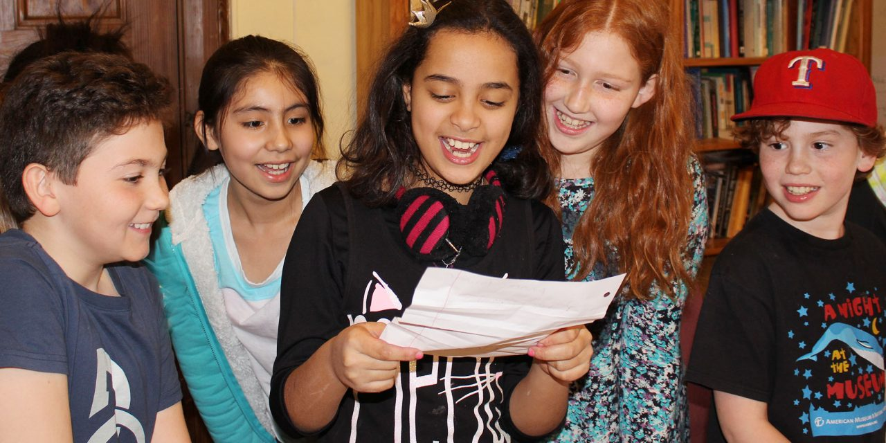 Uptown Stories – Year Round Writing for ages 8-14